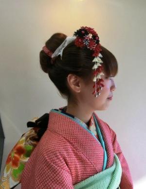 成人式 正統派日本髪