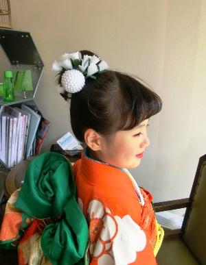 七五三(7歳のお祝い)