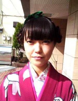 卒業式袴のヘアスタイル