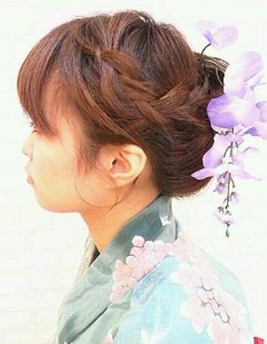 【ゆかたヘアアレンジ】花火大会にぴったり♪