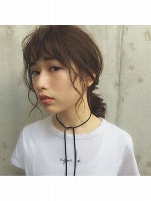 ローポニーテール☆シースルーバング