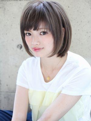 ◇前髪ナチュラルストレート
