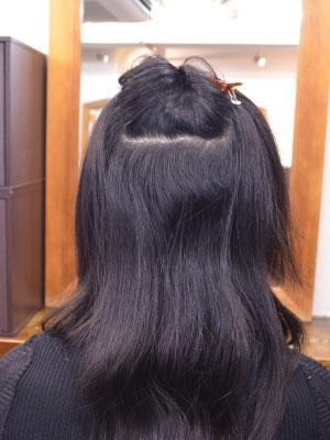 髪質改善縮毛矯正(リタッチ)