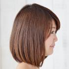シスキュア(髪質補正ボリュームダウン)+カット