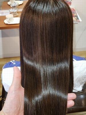 髪質改善カラー&プレミアムリマイン