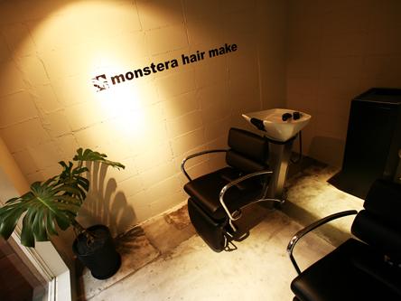 monstera hair make3