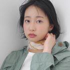 ノンジアミンカラー+モイスチャーへアパックトリートメント¥7700