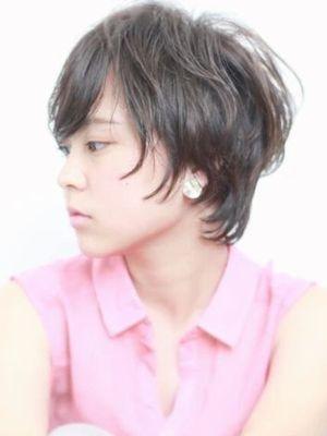 ◇大人のニュアンスパーマショートヘア◇