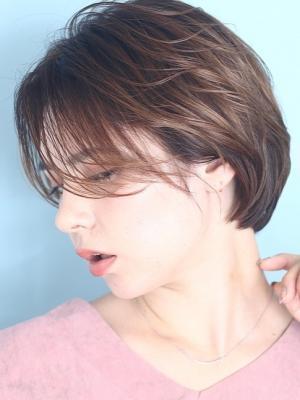 抜け感のある綺麗なショートヘア☆