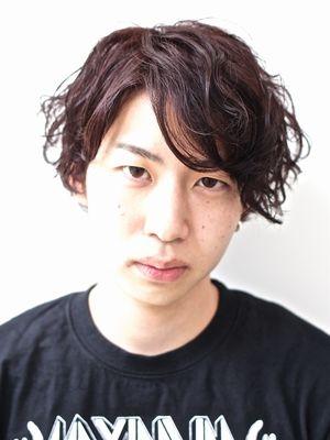 【marca】束感パーマ ユニセックススタイル 担当:三上