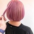 ご新規様クーポン【不動の大人気♪】カット+ピンクカラー(ブリーチ込み)