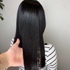 ご新規様クーポン【史上最高の艶ストレート】カット+髪質改善縮毛矯正+オージュアトリートメント