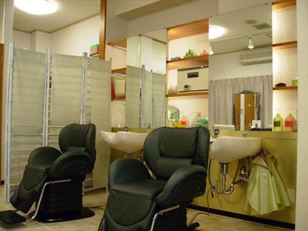 美容室リーフ中央店2