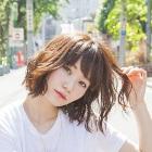 【apish AOYAMA青山】似合わせ前髪カット+オーガニックカラー
