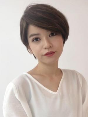 スタイリング簡単 小顔ハンサムショート/Salon銀座
