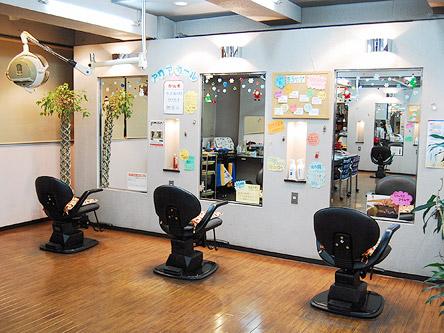 美容室 カメモト藤ヶ丘店1