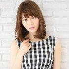 【外国人風】高発色アディクシーカラー+前髪カット