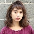 【ダメージレス】小顔カット+カラー+水パーマ+炭酸泉 24,840円→19,800円