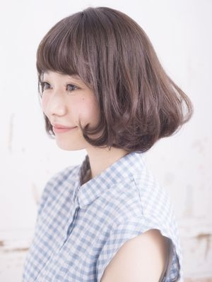 ワンカールのフェザーボブで小顔タンバリモリ☆