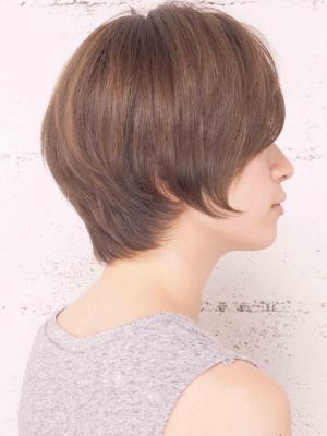 [NORA]素髪のクリアショートボブ