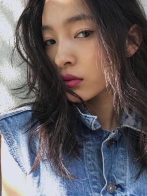 《NORA》YUMA/韓国人風大人かわいいアンニュイカール