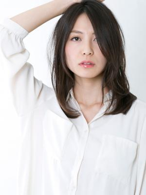 [NORA/久場秀行]戸田恵梨香さん風 大人のツヤ髪ミディ♪