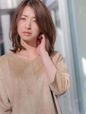 NORA【花輪】小顔カットデジパーふわっと暖色イルミナカラー