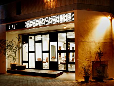 clear OF HAIR enu. 本山店3