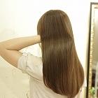 髪質改善トリートメント+カラーでまとまりやすい髪へ