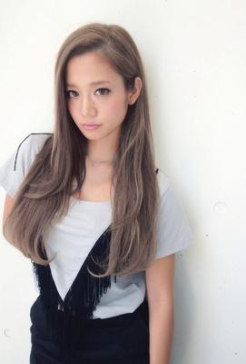 【Real 白石研太】外国人風アッシュグレージュカラー
