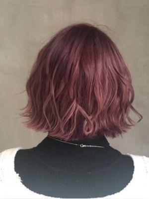 髪質改善/オレンジベージュ