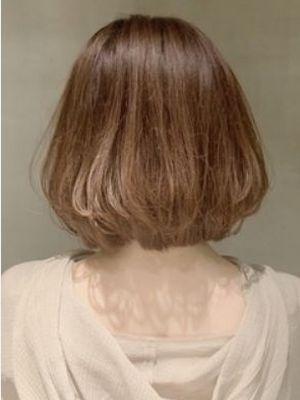 髪質改善/ニュアンスボブ