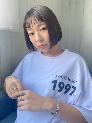 ミニボブ×Ort髪質改善
