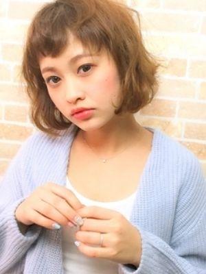 【池田コウイチ】短め前髪ボブ