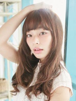 『小顔にみせるAライン』NamiNami☆ロング