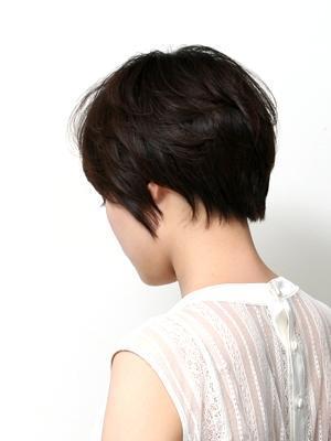 ナチュラル×ショート×黒髪