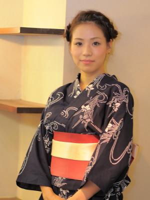 ☆大人浴衣編み込みアレンジ☆