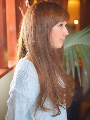 大人の艶髪ヘルシーロングスタイル