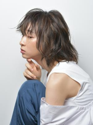 [FIRST]大人カジュアルラフパーマボブ <中屋信吾>