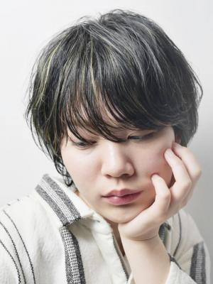 [FIRST]大人の余裕感漂う3Dカラーショート<濱田正一>