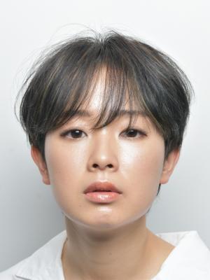[FIRST] 美フォルムショート×グレージュ <濱田正一>