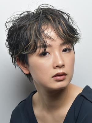 [FIRST] ショートハイライト×大人アッシュ<吉田京介>