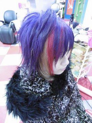 ♪派手髪3色MIXロックver♪