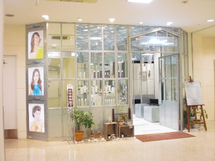 hair cutting garden Jacques Moisant 松山店1