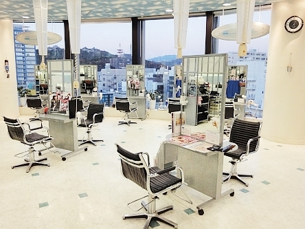 hair cutting garden Jacques Moisant 松山店2