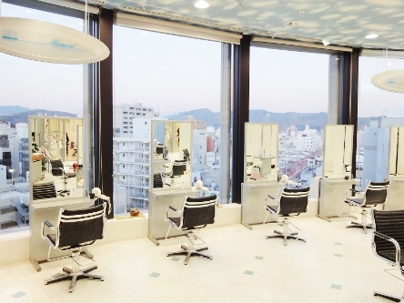 hair cutting garden Jacques Moisant 松山店3