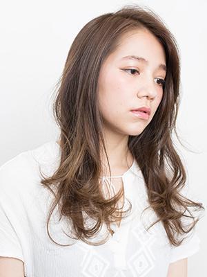 【PEEK-A-BOO】 柔らかカール上質ロング/石坂勇人/