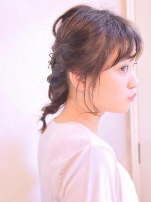 ふんわりルーズ☆おとなかわいいヘアアレンジ
