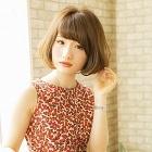 【サラサラ美人♪】縮毛矯正+カット+カラー+ヒアルロン酸コラーゲン付