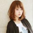 ◆ストレートカール+カット 23,100円→ 【18,480円】(ロング料金なし)